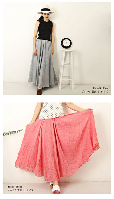 今年の夏は 大人気ロングスカート☆彡 激安!